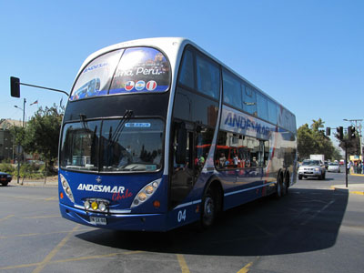 Buses Andesmar Chile